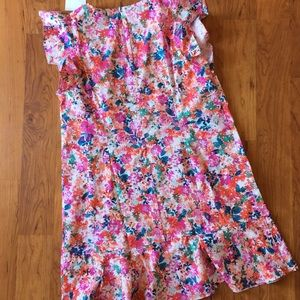 J. Crew Dresses - J.Crew Mercantile floral ruffle dress